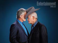 Patrick Duffy & Larry Hagman 'Dallas'