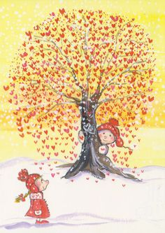 Heart Tree by floquilter, via Flickr