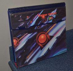 TRAPPER KEEPER Vintage 1992 Mead Designer Series Abstract 29100  2 Portfolios 1C #Mead