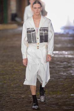 Alexander McQueen Spring 2014 Menswear Collection
