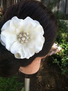 Bridal Hair Flower Wedding Hair Flower Flower by TheBellaCouture, $19.00