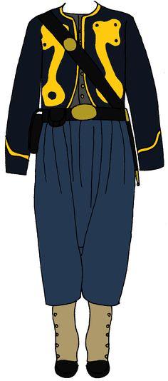 Union Zouave Enlisted Uniform 2