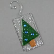 Resultado de imagen para fused glass christmas
