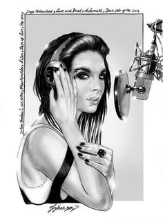 Lykan BTK (Illustrations of Bill and Tom Kaulitz) *REC*