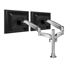 WorkRite Poise - Dual Monitor Arm. Change the way you see your work. A simple touch with your fingertip will easily change the position of the Workrite Poise while the monitor remains perfectly parallel. Parallelogram Design–For Ease of Adjustment.