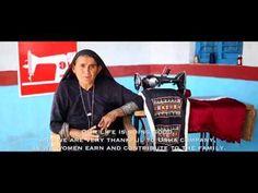 Share Your Love: Kunverben's Usha Silai School Story - YouTube
