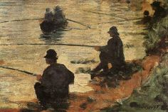 Georges Seurat Fisherman