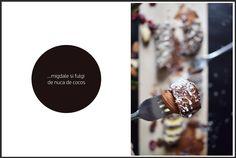 Un platou dulce insa cu putine calorii, care sa contina migdale, nuci, merisoare, sa miroasa a ciocolata si a rom si...