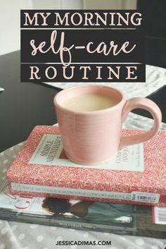 ideas for self-care morning routines - for more mindfulness in the morning