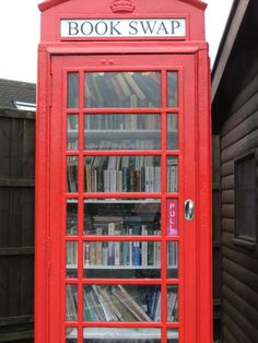 12 Ways to Repurpose a Phone Booth | Mental Floss