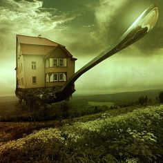 Home 4 – Home for Dinner 2 - 35 Creative Surreal Photo Manipulations <3 <3