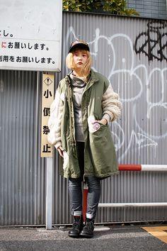 ストリートスナップ   7A   BOY 販売員   渋谷 (東京)