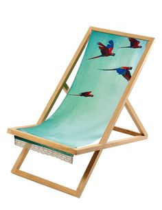 Tropical Deckchair
