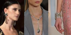 Opalescent Stones and Clear Crystals - trendspotted by Accessories magazine - loving it!