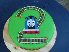 Thomas de trein voor de zoon van een vriendin