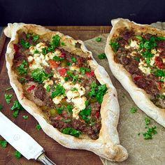 Turkish Recipes, Ethnic Recipes, Middle Eastern Recipes, Edamame, Trader Joes, Deli, Tahini, Vegetable Pizza, Pesto