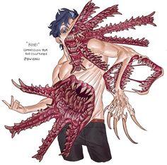 Character Creation, Character Art, Character Design, Creature Concept Art, Creature Design, Monster Concept Art, Demon Art, Naruto Art, Fantasy Creatures