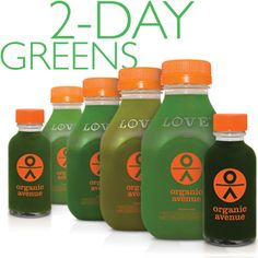 Organic avenue love deep cleanse cleanses now 126 3 day organic avenue 2 day greens malvernweather Choice Image
