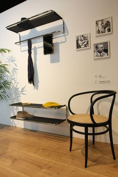 At IMM Cologne 2013 Thonet released a new series of coat and show racks based on classic Thonet design from the 1930s