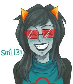 [Homestuck] The Latula art begins! I have to say, though, she's pretty awesome.