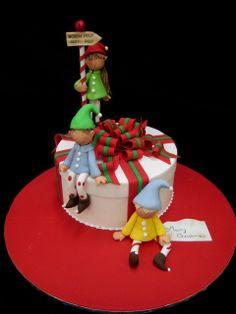 Christmas Elves Sugarcraft |Christmas Sugar Figurines
