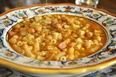 garbanzo bean and pasta