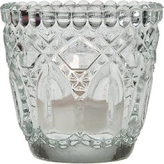 Luna Bazaar Candle Holder (2.75-Inch, Faceted Design, Clear Vintage Glass) - For Home Decor and Wedding Decorations - For Use with Tea Light Candles Cultural Intrigue http://www.amazon.com/dp/B004QD01G0/ref=cm_sw_r_pi_dp_P73swb1RT93TJ