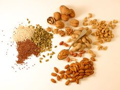 Almonds, pecans and pistachio are rich in protein, while walnuts contain omega-3 fatty acid.