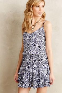Twelfth Street by Cynthia Vincent Seatide Mini Dress #anthrofave #anthropologie