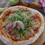 Pizza cu mozzarella și pere- delicioasă si ușor de pregătit!! 🍕🍕 #pizza @sunfoodconserve #sosderosii #gorgonzola #pere #foodblogger #mykitchen #f52grams #instafood #foodfotography