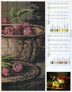 cross stitch chart*♥* Kitchen