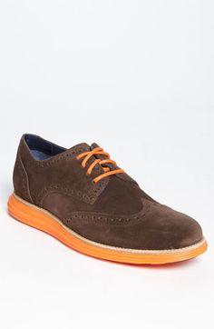 Cole Haan 'LunarGrand' Wingtip (Men) available at Nordstrom Mens Shoes Sale, Mens Sale, Fall Shoes, Spring Shoes, Tie Shoes, Men's Shoes, Upscale Menswear, Exclusive Shoes, Everyday Shoes