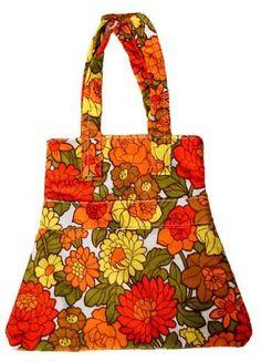 Moda anni 60 - Moda Anni 60 borsa a fiori