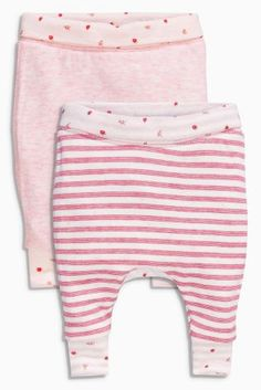 Buy Two Pack Pink Strawberry Joggers (0mths-2yrs) online today at Next: United States of America