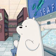 아이스베어 장보기 (11) Ice Bear We Bare Bears, 3 Bears, Cute Bears, We Bare Bears Wallpapers, Cute Wallpapers, Cartoon Icons, Cute Cartoon, Animated Icons, Bear Wallpaper