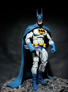 Batman (Batman) Custom Action Figure by Leech Base figure: WWE