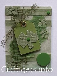 Artist Trading Card. ATC; #ATC #card. Makes me think of puzzle pieces