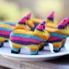 These cute pinata cookies are filled with mini m!