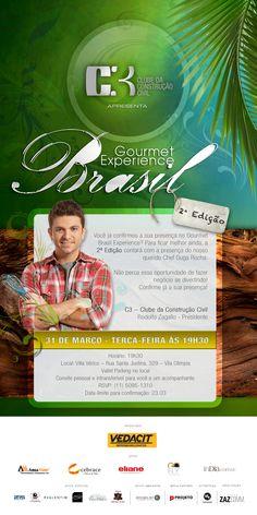 Gourmet Brasil - C3 - Clube da construção civil