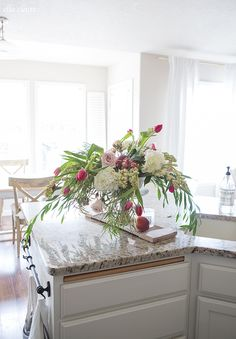 Spring Flower Arrangement