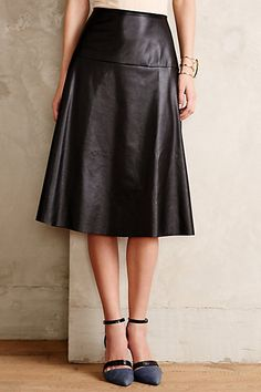 f70dc811d099 Vegan Leather Midi Skirt - anthropologie.com  anthrofave Leather Midi  Skirt