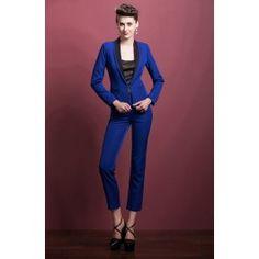Damen Hosenanzug in Blau