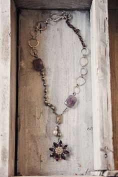 Lovely Vintage Restyled Jewelry - made by Heather Kowalski - prettypetals.typepad.com
