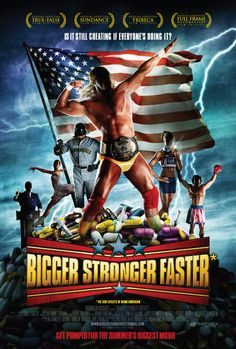 """This is a film about DRUGS > Bigger Stronger Faster (2008) """"An examination of America's win-at-all-cost culture from the perspective of bodybuilding and performance enhancing drugs, as it focuses on a pair of siblings chasing their dream."""" (Directed by Chris Bell.  With Chris Bell, Mike Bell, Mark Bell, Hank Aaron.) #documentaries #films #movies"""
