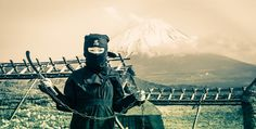 A Young Ninja at Mt. Fuji from #treyratcliff at www.StuckInCustoms.com - all images Creative Commons Noncommercial.