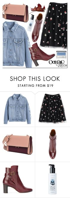 """""""Untitled #3499"""" by mada-malureanu ❤ liked on Polyvore featuring Michel Vivien, too cool for school and Clinique"""