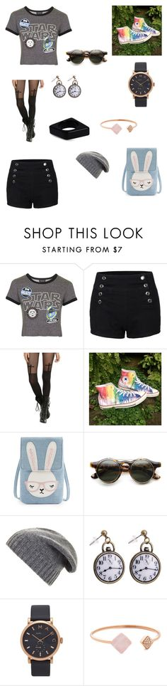 """""""Geek out"""" by starlord221b ❤ liked on Polyvore featuring Topshop, LE3NO, Converse, BCBGMAXAZRIA, Marc Jacobs, Michael Kors and Marni"""