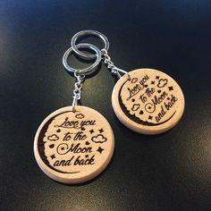 Gruffydd Leather Keyring Birthday Name Optional Engraving