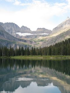 Glacier National Park, MT I must go here someday! All of the pictures are incredible. Best Places To Camp, Oh The Places You'll Go, Places To Travel, Places To Visit, Rio, Glacier Park, Big Sky Country, Fauna, Dream Vacations