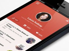 Flat iOS App Designs #flatdesign #flat #ios